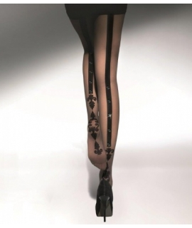 FLAVIE STONES Patterned tights