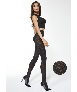 MONA Patterned Tights 40 Den