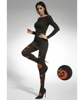 PUMPKIN Patterned Tights 40 Den, 3 D