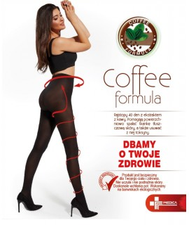 SUN COFFEE Rajstopy Klasyczne/Funkcyjne 40 Den